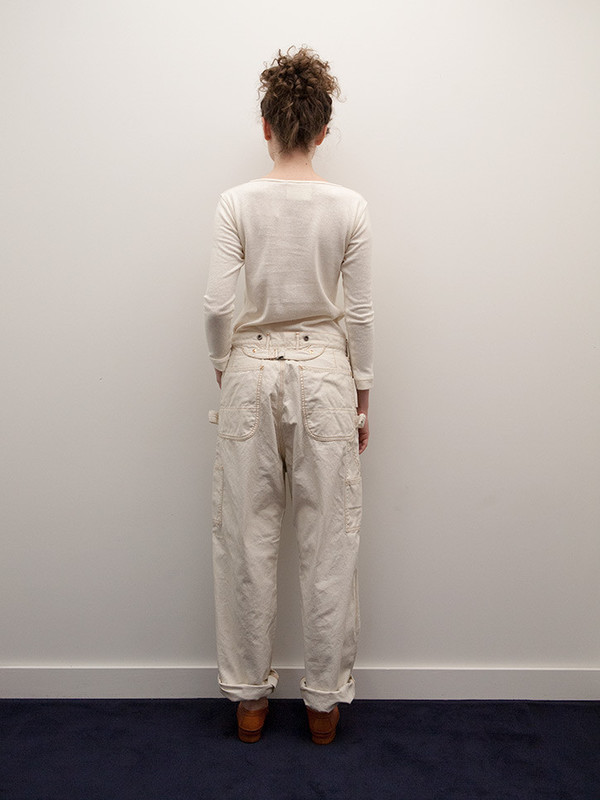 Kapital Light Canvas Lumber Pants
