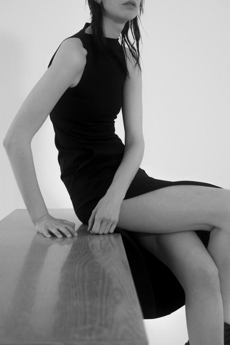 David Michael Collection Helix Dress Black