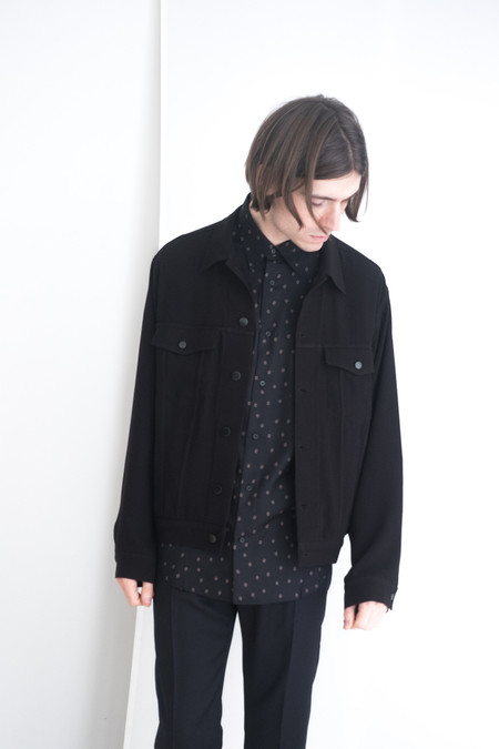 David Michael Unisex Black Bodi Jacket