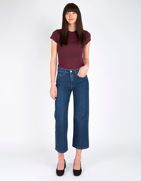 Filippa K Iris Dark Blue Denim Dark Blue Wash Denim