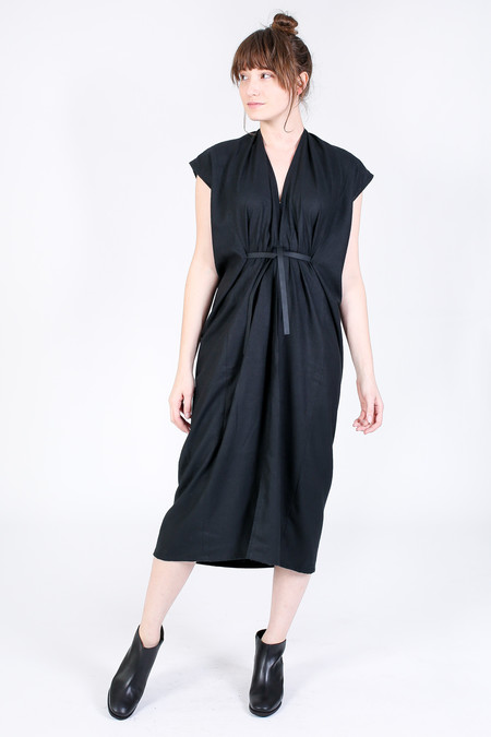 Miranda Bennett Knot Dress in Black