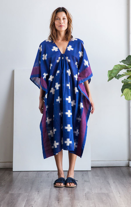 Two New York Blue Plus caftan