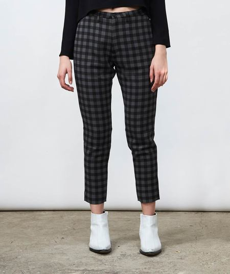 Hope Krissy Trouser - Dark Grey Check