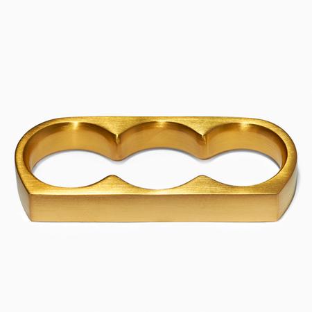 MING YU WANG BINARY Knuckle Ring