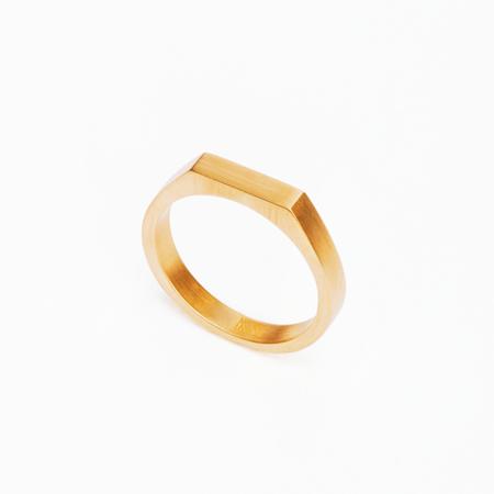 MING YU WANG Gold THEOREM Ring