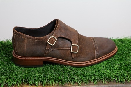 Trask Langley Snuff Oiled Suede Shoes