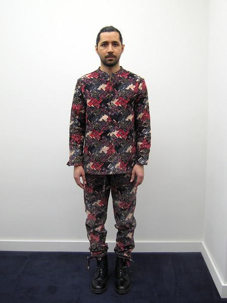 Unisex ZED Pullover Shirt, Crazy Linen/Silk