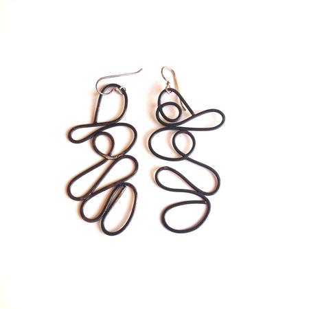 Patsy Kolesar 'Blackened Tornado' earrings