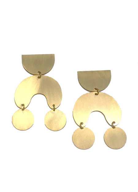 MODERN WEAVING Moon Dancer Earrings