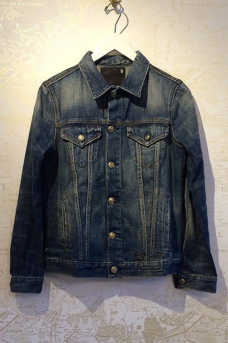 R13 Tailored Trucker Denim Jacket