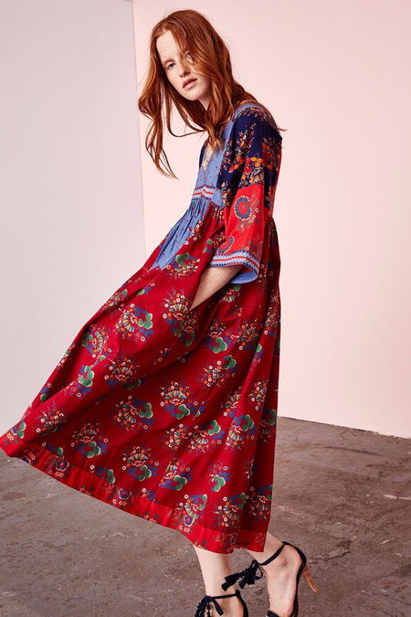 Ulla Johnson MILENA DRESS - PATCHWORK