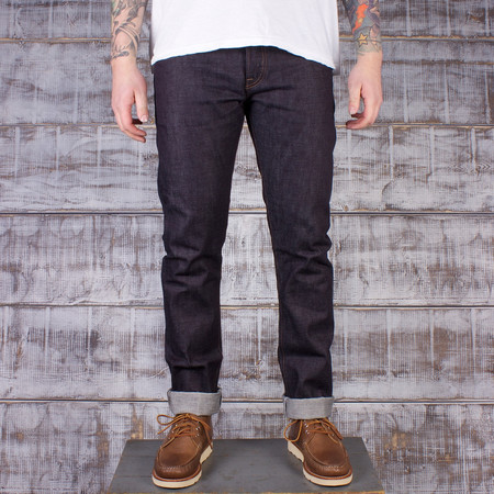 Rogue Territory SK 14.5 oz Slim Tapered Jean - Nihon Menpu Mills Indigo