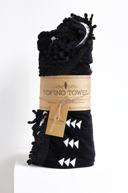 Tofino Towel Co the florencia round beach towel