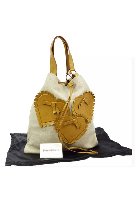 7 on Locust Vintage Yves Saint Laurent Tote Bag