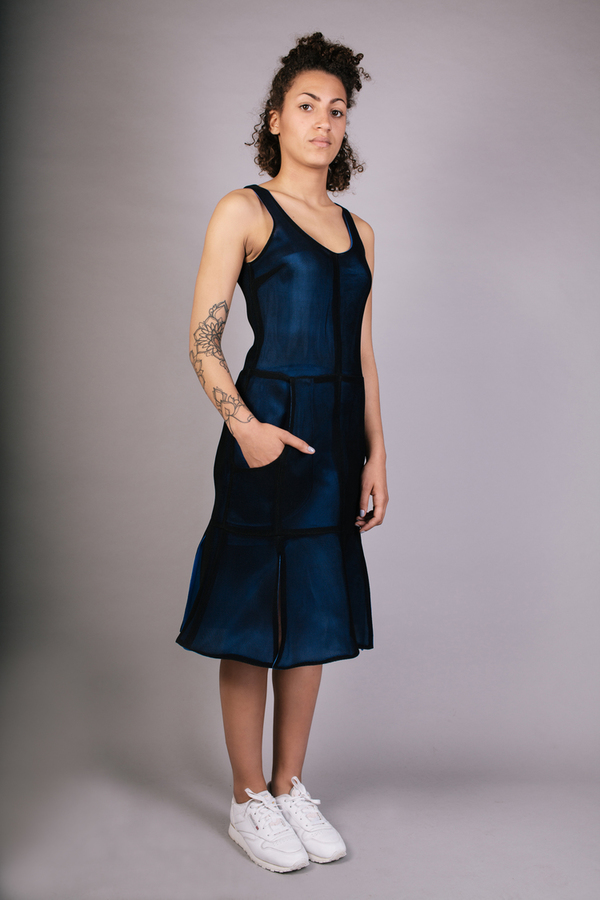Livia Arena Split Spacer Dress