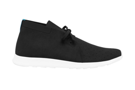 Native Shoes Apollo Chukka (Jiffy Black / Shell White)