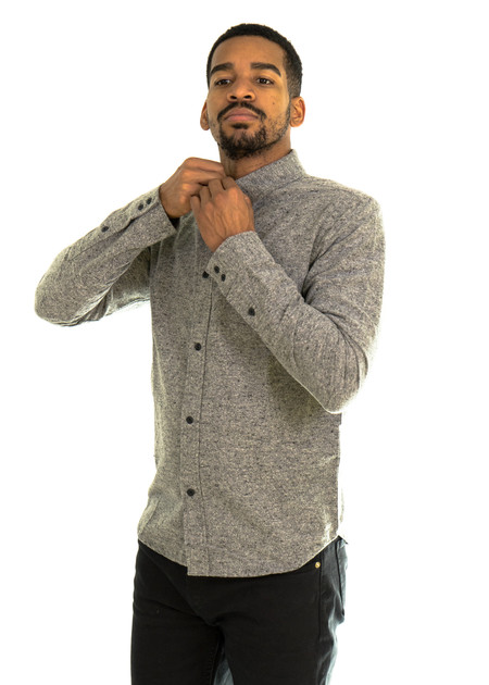 Native Youth Granite Shirt (Grey)