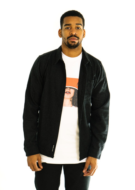 Native Youth Icelandic Shirt (Black)