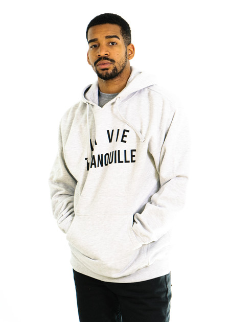 The Quiet Life La Vie Tranquille Pullover (Light Grey)