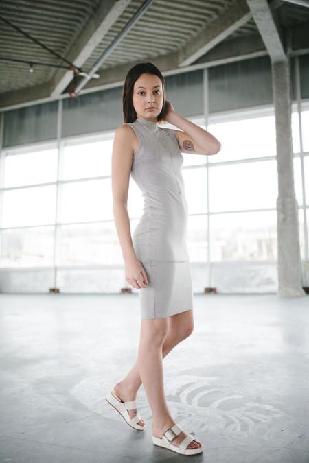 Bella Luxx micro rib midi dress