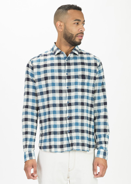 YMC Gingham Curtis Shirt