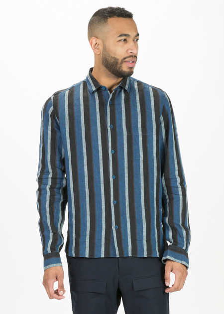 YMC Stripe Curtis Shirt