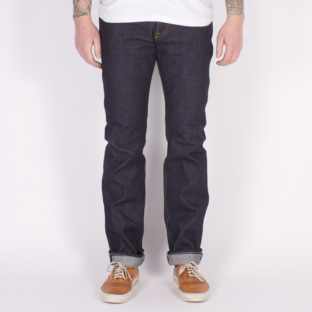 "Iron Heart IH-777R-14 - 14oz ""Super"" Slim Tapered Raw Indigo Selvedge Jeans"