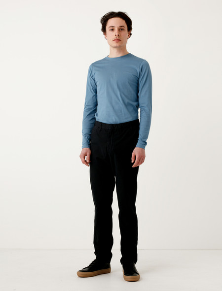 Norse Projects Aros Slim Light Stretch Black
