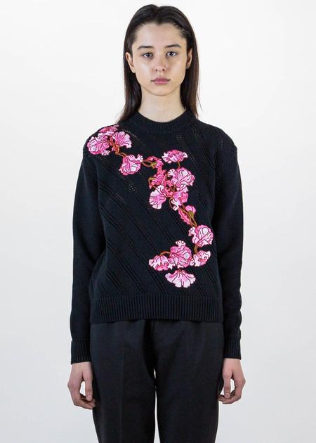 Carven Knit Floral Pullover