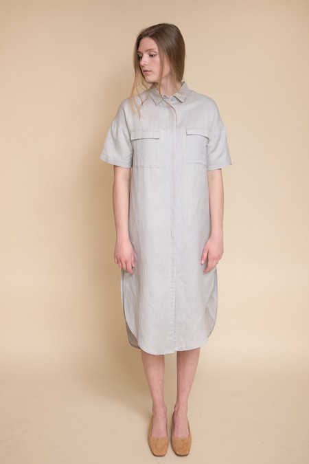 Native Youth Ionized Shirt Dress