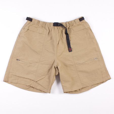 Battenwear Camp Shorts - Beige Nylon Taslan
