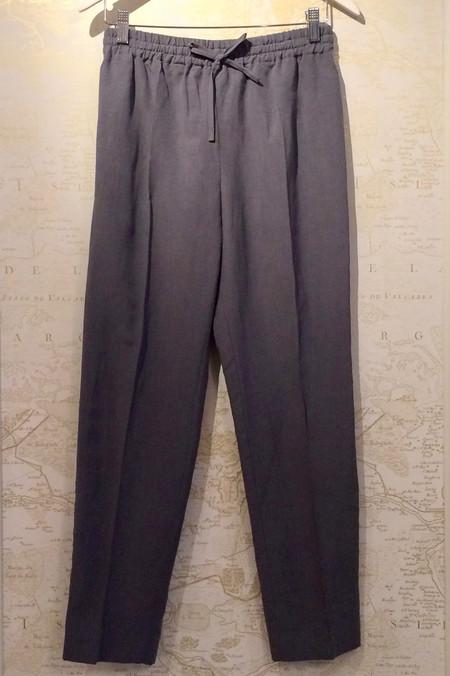 Joseph Linen/Silk Drawstring Trouser
