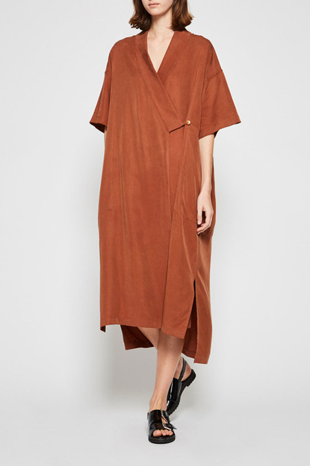 Shaina Mote Kyoto Dress - Clay