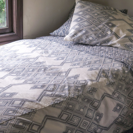 Erica Tanov large diamond duvet cover
