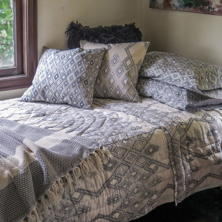 Erica Tanov large diamond quilt