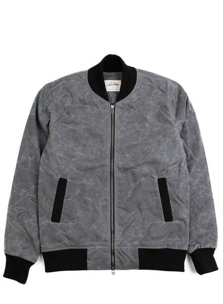 3Sixteen Stadium Jacket Charcoal