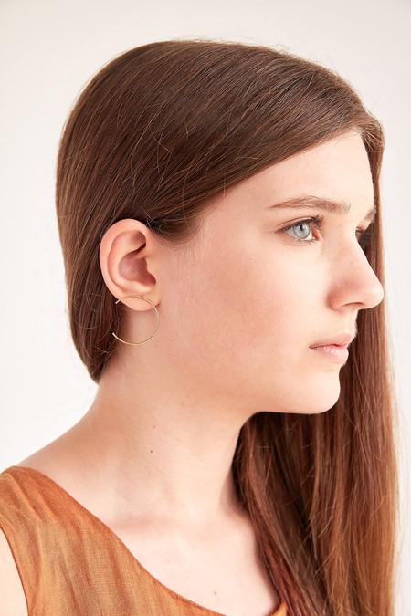 """Sansoeurs """"C"""" Earring (Gold)"""