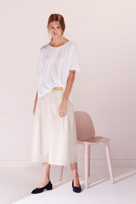 KOWTOW Building Block Oversized Tee in White