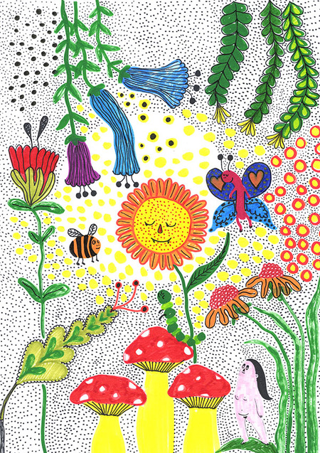Camilla Engstrom Sunflower Forest