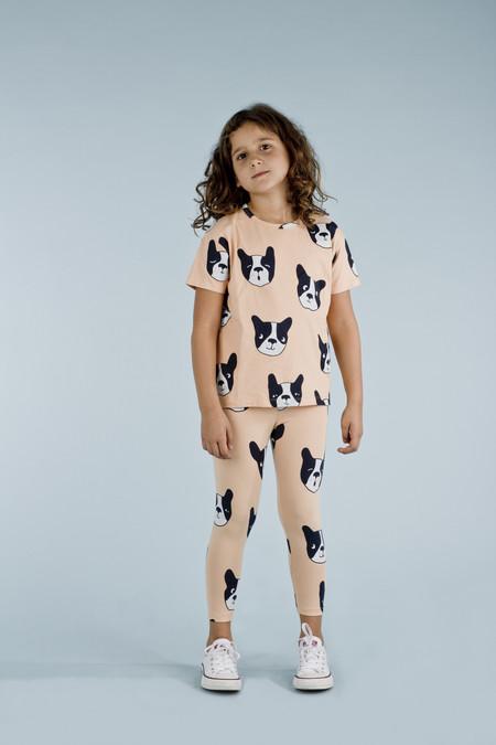 Kid's Tiny Cottons MOUJIK FACES OVERSIZED T-SHIRT