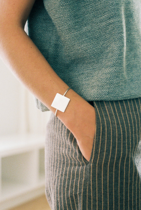 Young Frankk Square Cuff Bracelet