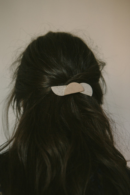 Gamma Folk Triple Moon Hairclip