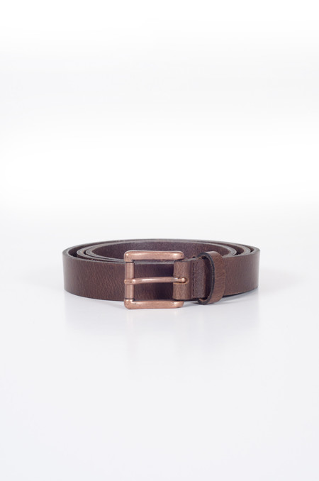 Naked & Famous Buffalo Belt Brown