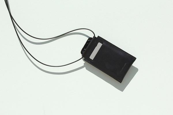 Building Block Iphone Sling in Black