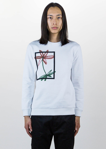 Harmony White Simon Sweatshirt