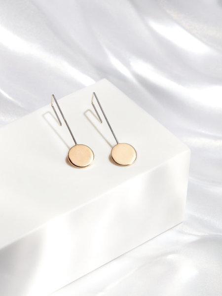 Rock Salt Vintage Pendulum Earrings