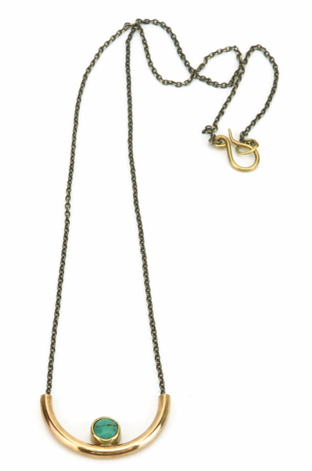 Claire Green Basin Necklace