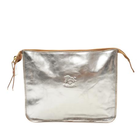 Il Bisonte Silver A0024 Beauty Case