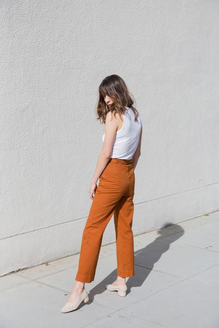 lacausa uniform trouser in maple