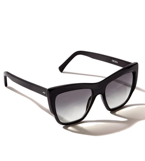 ZANZAN Okura Sunglasses in Black